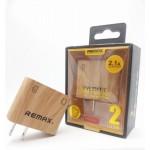 ที่ชาร์จ REMAX 2 USB Moon Charger Plug รุ่น RMT6688
