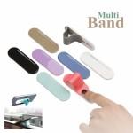 Multi band Phone Stand สีน้ำตาล