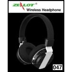 หูฟัง บลูทูธ Zealot 047 Wireless Headphone สีดำ