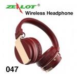 หูฟัง บลูทูธ Zealot 047 Wireless Headphone สีแดง