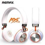 หูฟัง ครอบหู REMAX 195HB Stereo headphone สีขาว