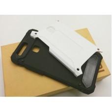 เคส Huawei P9 เคสบั๊มเปอร์ (เสริมขอบกันกระแทก) สีขาว Hybrid Protection