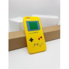 เคส iPhone 6 / 6S เคส Silicone TPU 3D สามมิติ (Realistic) ลาย Gameboy สีเหลือง