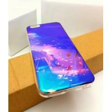 เคส iPhone 6 / 6S (4.7 นิ้ว) เคส TPU พื้นผิวเงาสะท้อน (Blu-ray Series) แบบที่ 14  เด็ก