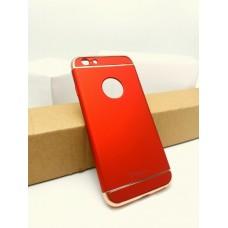 เคส iPhone 6 / 6S เคส iPaky เคสแข็งความยืดหยุ่นสูง (Hybrid Case) แบบ 3 ส่วน สีแดง
