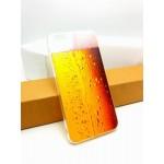 เคส iPhone 6 Plus เคส TPU พิมพ์ลาย แก้วเบียร์