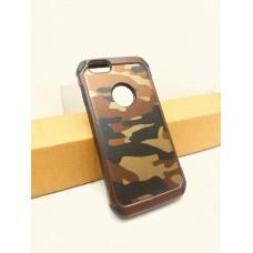 เคส iPhone 6 / 6S กรอบบั๊มเปอร์ กันกระแทก Defender ลายทหาร สีน้ำตาล