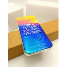 เคส iPhone 6 / 6S (4.7 นิ้ว) เคส TPU พื้นผิวเงาสะท้อน (Blu-ray Series) แบบที่ 10