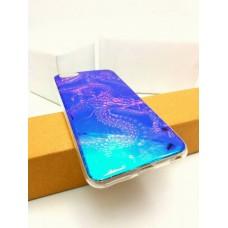 """เคส iPhone 6 Plus (5.5"""" นิ้ว) เคส TPU พื้นผิวเงาสะท้อน (Blu-ray Series) แบบที่ 7 มังกร"""