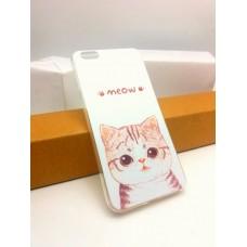 เคส iPhone 6 Plus เคสนิ่ม TPU พิมพ์ลาย ลายแมว 2