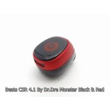 หูฟัง บลูทูธ Beats CSR 4.1 By Dr.Dre Monster สีดำ-แดง