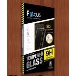 ฟิล์มกระจกนิรภัยกันรอยเต็มจอลงโค้ง แบบ 3D iPhone 7 Plus สีดำ