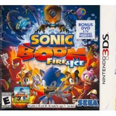 3DS: SONIC BOOM FIRE & ICE (R1)(EN)