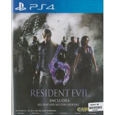 PS4: RESIDENT EVIL 6 (R3)(EN)