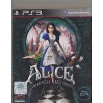 PS3: ALICE MADNESS RETURNS (Z3)