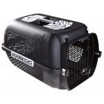 กล่องใส่สุนัขและแมว สีดำ ลายคลาสสิค size L ขนาด กว้าง 15 นิ้ว ยาว23.5 นิ้ว สูง 15.5 นิ้ว