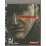 PS3: Metal Gear Solid 4 (Z1)