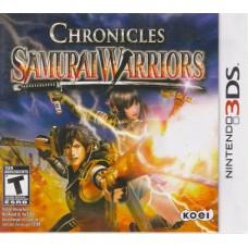 3DS: Samurai Warriors Chronicles (EN)