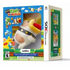 3DS: POOCHY & YOSHI'S WOOLLY WORLD AMIIBO BUNDLE (R1)(EN)