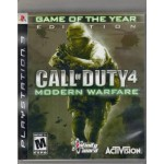 PS3: Call of duty 4 modern warfare game of the year