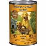 พินนาเคิล Pinnacle อาหารสุนัขชนิดเปียก สูตรไก่งวงและมันฝรั่ง 369 กรัม