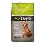 อโวเดิร์ม AvoDerm Senior อาหารสุนัขแก่ ชนิดเม็ด ทุกสายพันธุ์ สูตรไก่และข้าวกล้อง 2 kg