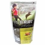 Pronature Holistic Chicken and sweet potato Puppy ชนิดเม็ด สำหรับลูกสุนัข สูตรเนื้อไก่และมันฝรั่งหวาน 340 กรัม