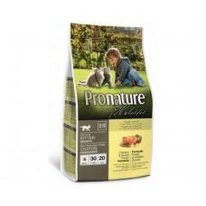 Pronature Holistic Kitten ชนิดเม็ด สำหรับลูกแมว สูตรเนื้อไก่และมันฝรั่งหวาน 340 กรัม