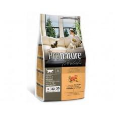 Pronature Holistic Adult Cat Duck a' l' Orange อาหารแมวชนิดเม็ด สูตรเนื้อเป็ดและส้ม 2.72 kg