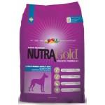 Nutra Gold Holistic Large Breed Adult dog ชนิดเม็ด สำหรับสุนัขอายุ 2 ปีขึ้นไป(สูตรพิเศษ เม็ดใหญ่) 15 kg