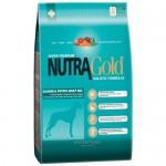 Nutra Gold Holistic Salmon and Potato for Adult dog ชนิดเม็ด เกรดโฮลิสติก สำหรับสุนัขโตที่แพ้ง่าย สูตรเนื้อปลาแซลมอนและมันฝรั่ง 3 kg