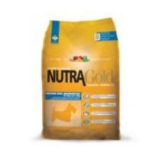 Nutra Gold Holistic Indoor Adult Dog Micro Bites ชนิดเม็ด สูตรสุนัขโตเต็มวัย อายุ 1 ปี ขึ้นไป 7.5 kg
