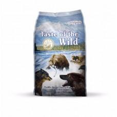 Taste of the Wild Pacific Stream Canine with Smoked Salmon ชนิดเม็ด  สูตรปลาแซลมอนรมควัน สำหรับสุนัขทุกช่วงวัยทุกสายพันธุ์ 680 กรัม (ซื้อ1แถม1)
