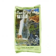 Taste of the Wild Roasted Venison & Smoked Salmon ชนิดเม็ด รสเนื้อกวางย่างและปลาแซลมอนรมควัน สำหรับแมวทุกวัยทุกสายพันธุ์ 2.27 kg