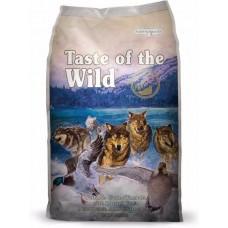 Taste of the wild wetlands canine with roasted wild fowl ชนิดเม็ด สูตรเนื้อเป็ด เนื้อไก่งวง และเนื้อนกกระทา สำหรับสุนัขทุกช่วงวัยทุกสายพันธุ์ 680 กรัม (ซื้อ1แถม1)
