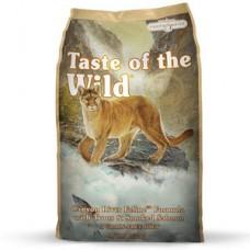 Taste of the Wild Canyon River Feline Formula with Trout & Smoked Salmon ชนิดเม็ด รสปลาเทราท์และปลาแซลมอนรมควัน สำหรับแมวทุกวัย ทุกสายพันธุ์ 2.27 kg