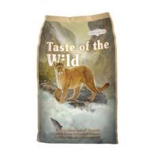 Taste of the Wild Canyon River Feline Formula with Trout & Smoked Salmon ชนิดเม็ด รสปลาเทราท์และปลาแซลมอนรมควัน สำหรับแมวทุกวัยทุกสายพันธุ์ 680 กรัม(ซื้อ1แถม1)