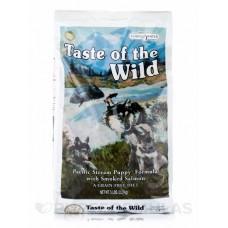 Taste of the Wild Pacific Stream Puppy Formula with Smoked Salmon ชนิดเม็ด สูตรปลาแซลมอนรมควัน สำหรับลูกสุนัขทุกสายพันธุ์ 2.27 kg