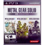 PS3: Metal Gear HD Collection