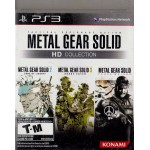 PS3: Metal Gear Solid Hd Collection (Z1)