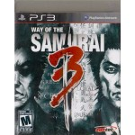 PS3: WAY OF THE SAMURAI 3 (Z1)