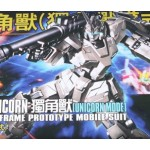 1/144  HGUC (101) HG Unicorn Gundam Unicorm Mode