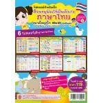 6 โปสเตอร์ปูพื้นฐานภาษาไทย (พยัญชนะไทย+สระไทย+มาตราตัวสะกด+ลักษณนาม+สำนวน สุภาษิต คำพังเพย+คำราชาศัพท์)