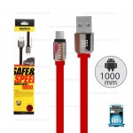 REMAX Cable Micro 1M,หอม (Red)- สายชาร์จ REMAX Smell