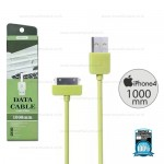 REMAX Cable iPhone 4/4s (Green)