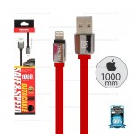 REMAX Cable i5/i6 1M,หอม (Red) - สายชาร์จ REMAX Smell
