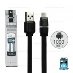 REMAX Cable Micro USB Black (1M,Breathe)