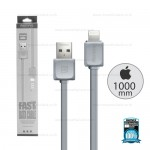REMAX Cable i5/i6 RC-008i Gray (1M,แบน)