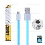 REMAX Cable Micro USB (1M,V2) Pudding Blue
