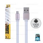 REMAX Cable Micro USB (1M,V2)Pudding White